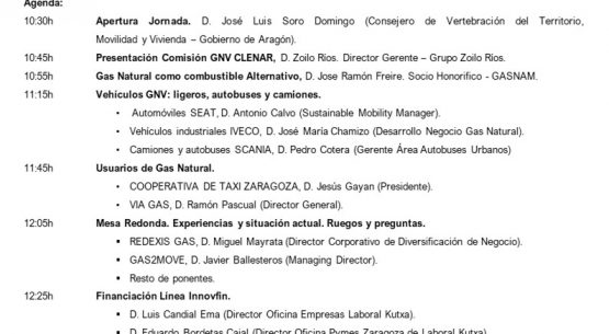 Jornada Técnica: Vehículos a Gas Natural y Biometano, una alternativa de movilidad sostenible.