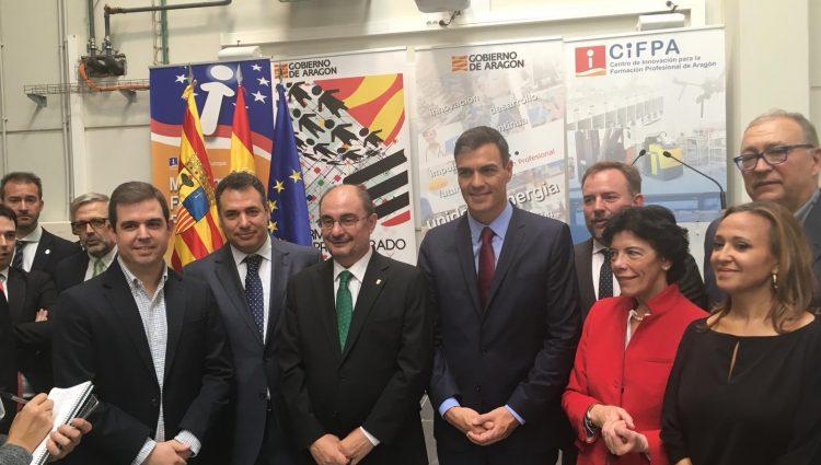 Visita de Pedro Sánchez al CIFPA