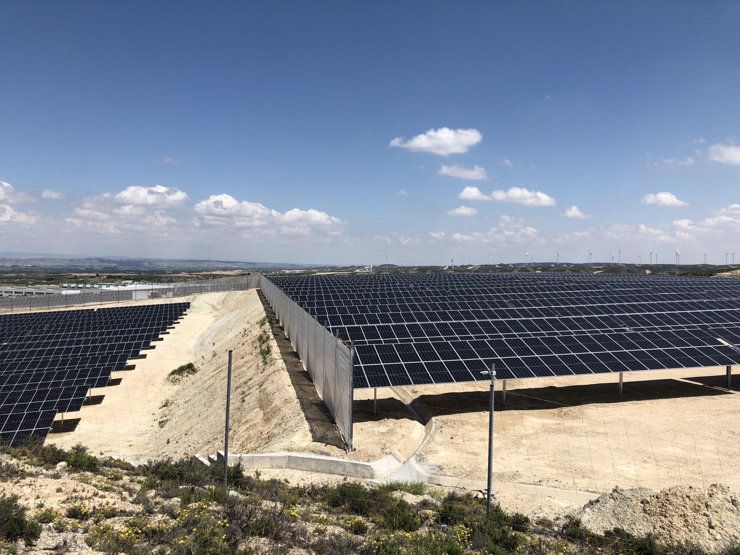 Iasol, socia de Clenar, implementa una novedosa solución técnica para minimizar los riesgos por viento en parque fotovoltaicos