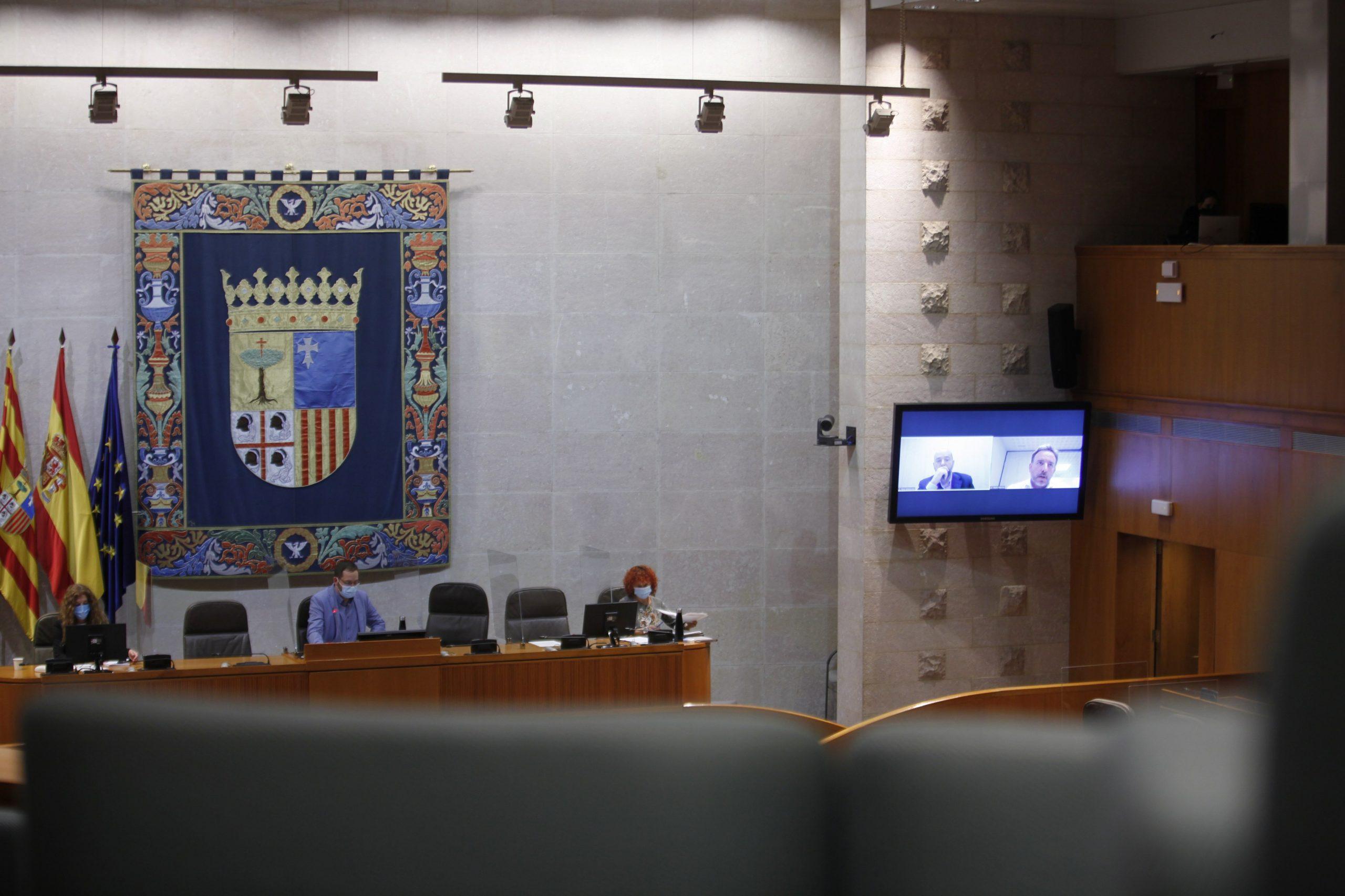 """El Clúster de la Energía de Aragón (Clenar) reclama en las Cortes de Aragón diálogo y consenso para una """"recuperación verde"""""""